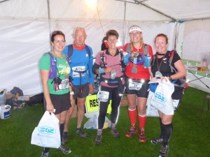 UKan Trail SBU35 Finish Line Tent 2015