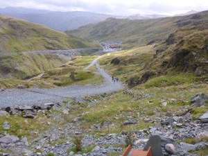 UKan Trail SBU35 Honister ascent